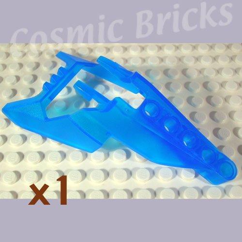 LEGO Trans Dark Blue Bionicle Head Connector Block Eye Brain Stalk Vahki x1190 (single,N)