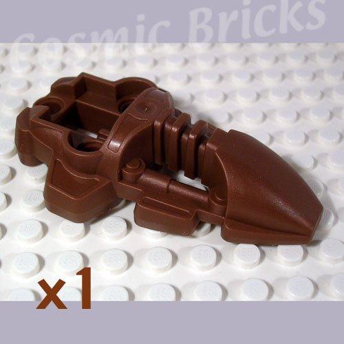 LEGO Pearl Brown Bionicle Foot Rahkshi 4194909 44138 (single,N)
