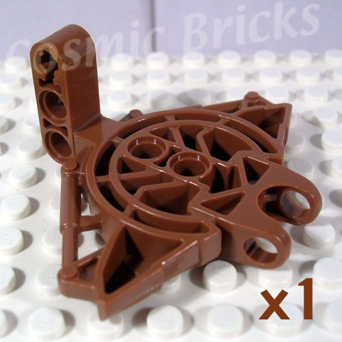 LEGO Dark Flesh Bionicle Vahki Torso Upper Section 47331 (single,N)
