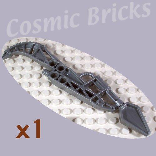 LEGO Flat Silver Bionicle Weapon Vahki Staff of Presence Rorzakh 47339 (single,N)