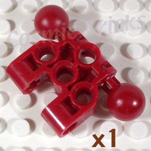 LEGO Dark Red Bionicle Vahki Torso Lower Section 4289930 47330 (single,N)