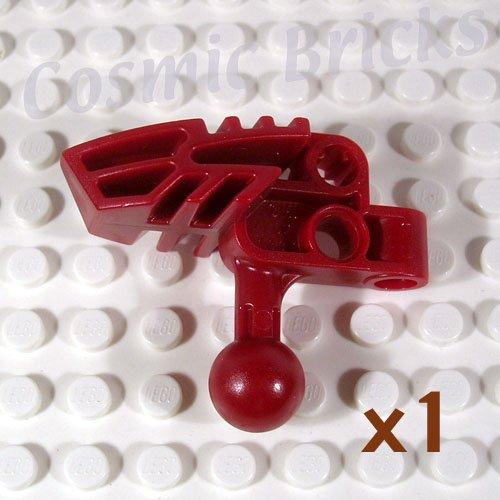 LEGO Dark Red Bionicle Head Connector Block Vahki 4289835 47332 (single,N)
