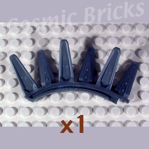LEGO Flat Silver Bionicle Rahkshi Back Blade 6 blades Panrahk 44142 (single,N)