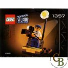 LEGO 1357 Instruction Booklet (Camera Man)