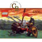LEGO 4806 Instruction Booklet (Axe Cart)