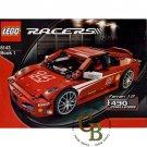 LEGO 8143 Instruction Booklet (Ferrari 1:17 F430 Challenge)