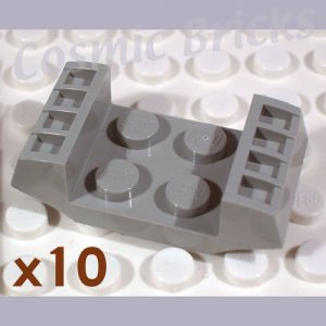 LEGO Light Gray Plate Modified 2x2 Grills 4163545 (10 pack,N)