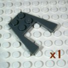 LEGO Dark Bluish Gray Wedge Plate 4x4 4210868 4234938 4561036 (single,N)