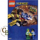 LEGO 6617 Instruction Booklet (Tough Truck Rally)