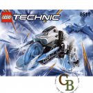 LEGO 8511 Instruction Booklet (Frost)
