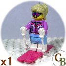 LEGO Collector Series 8 Downhill Skier minifigure (single,N)