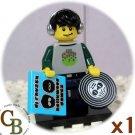 LEGO Collector Series 8 DJ minifigure (single,N)