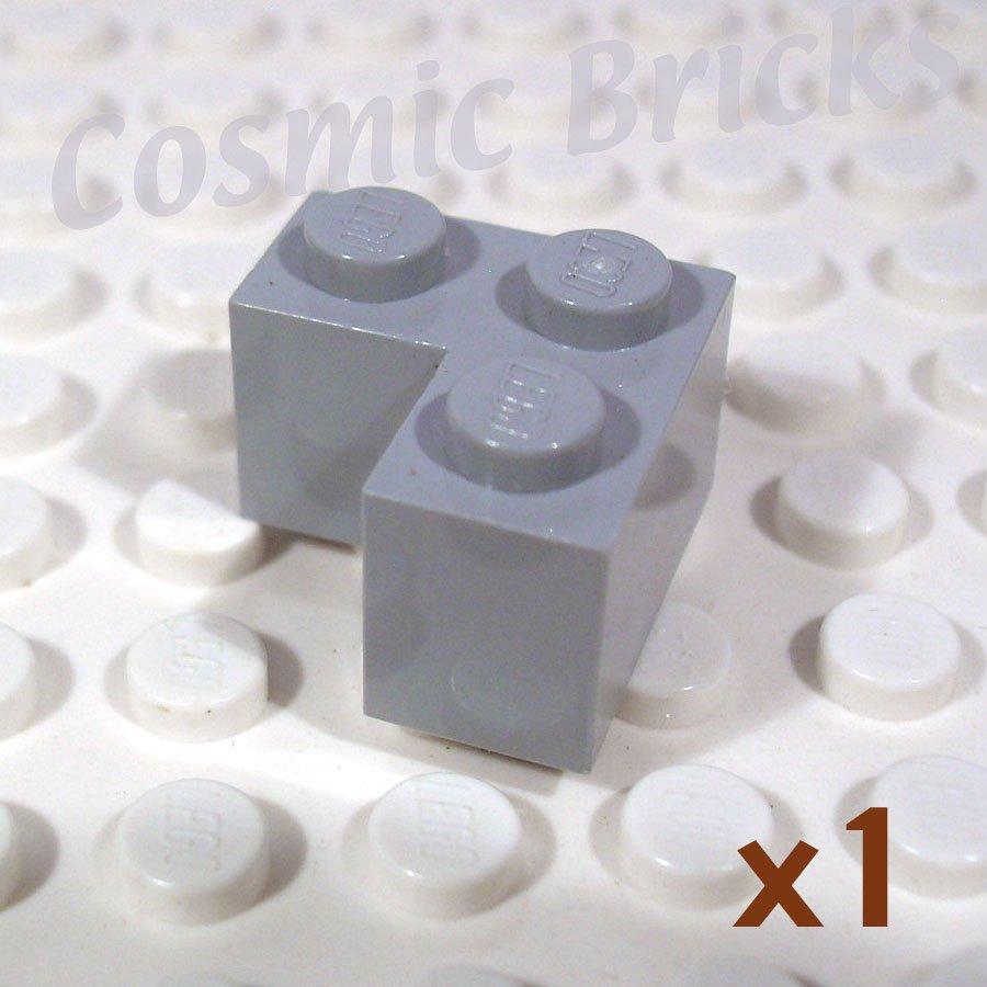LEGO Light Bluish Gray Brick 2x2 Corner 4211349 2357 (single,N)