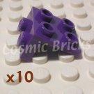 LEGO Medium Lilac Angle Plate 1X2 / 2X2 4277936 44728 (10 pack)
