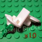 LEGO White Chair Ø20mm X5X2 1/3 4142813 30488 (10 pack,N)