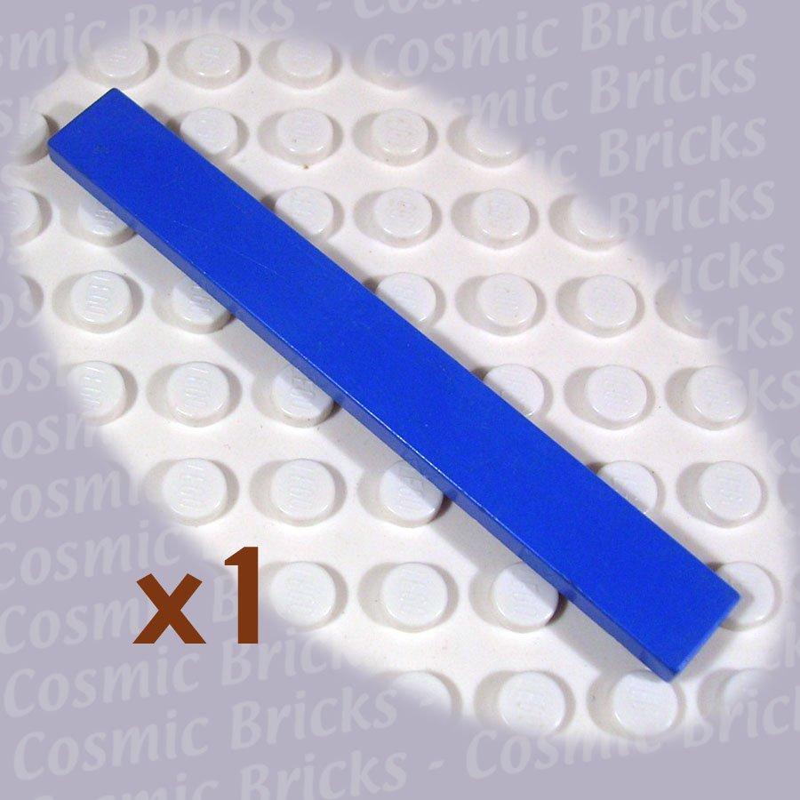LEGO Blue Tile 1x8 416223 4162 (single,U)