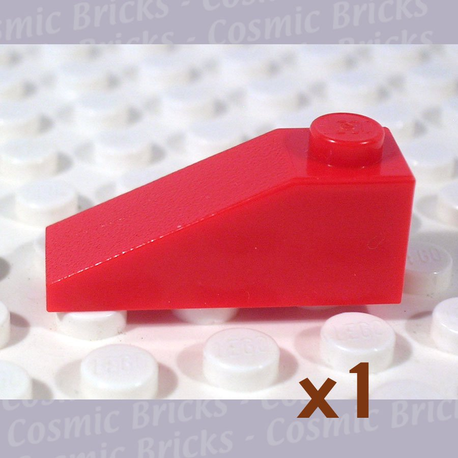 LEGO Bright Red Slope 33 3x1 428621 4286 (single,N)