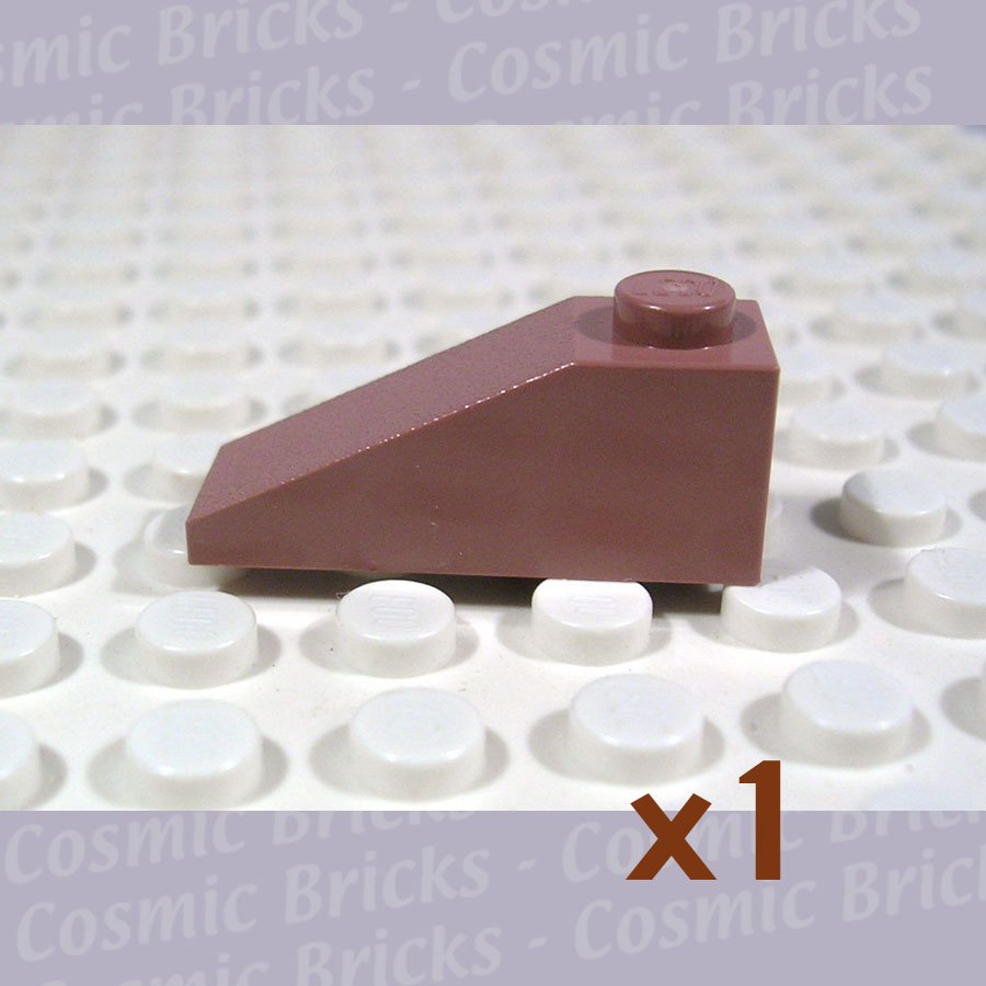 LEGO Sand Red Slope 33 3x1 4286153 4286 (single,N)