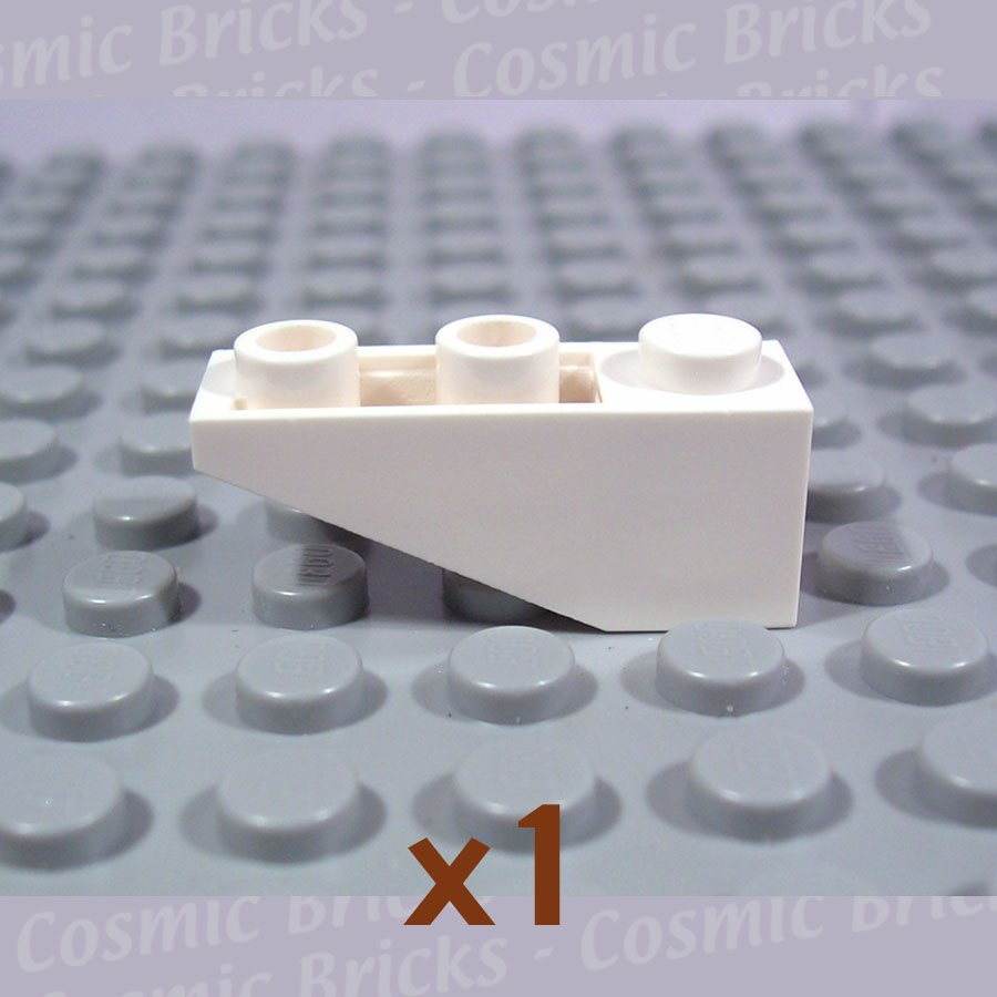 LEGO White Slope Inverted 33 3x1 428701 4287 (single,N)