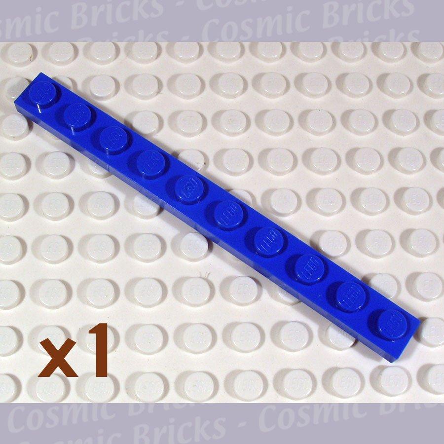 LEGO Bright Blue Plate 1x10 447723 4477 4477 (single,N)