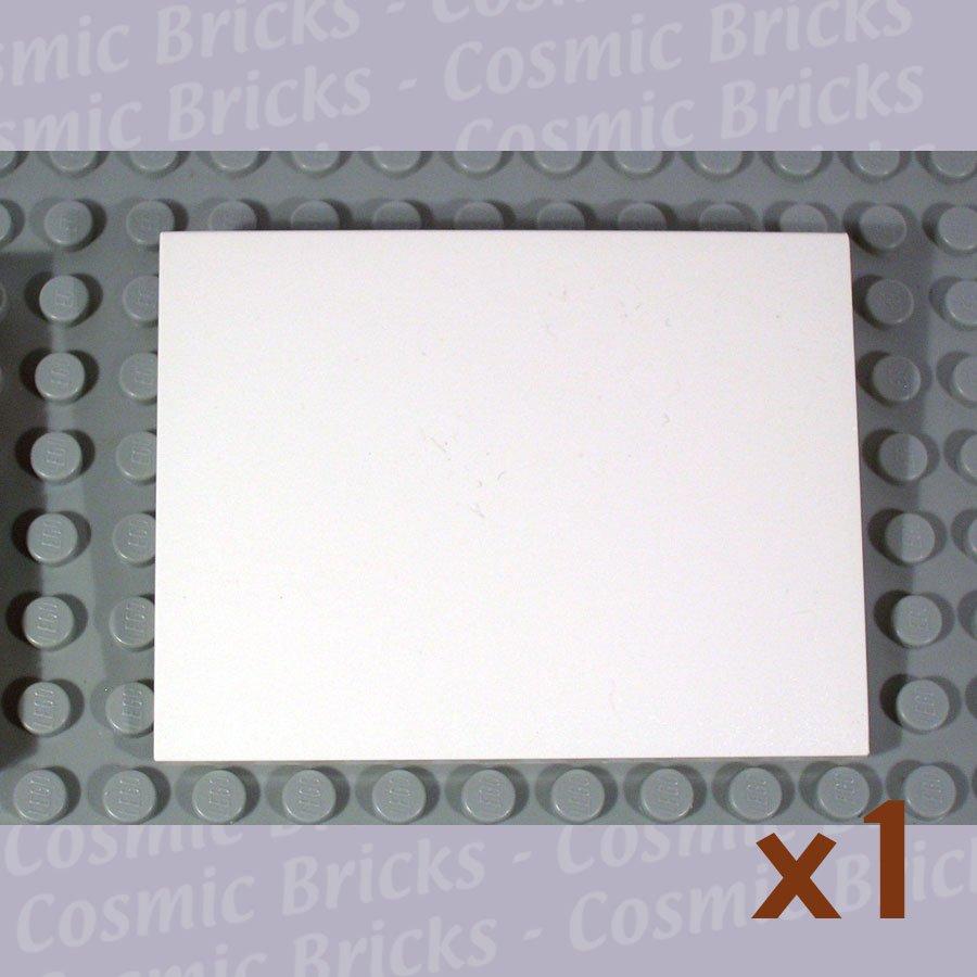 LEGO White Slope 10 6x8 4529681 4515 (single,N)