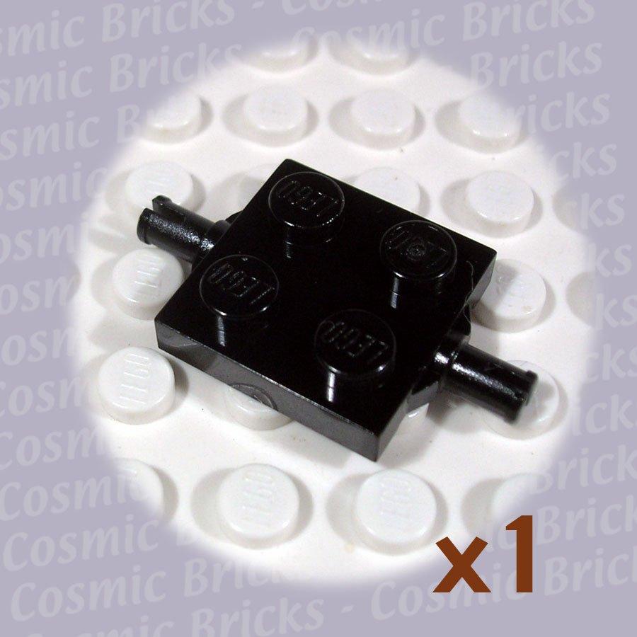 LEGO Black Plate Modified 2x2 Wheels Holder 460026 4600 (single,N)