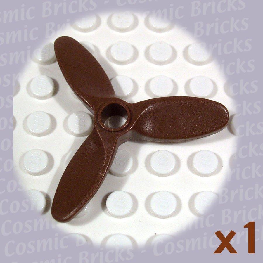 LEGO Brown Propeller 3 Blade 5.5 Diameter 4617 (single,N)