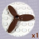 LEGO Brown Propeller 3 Blade 5.5 Diameter 4617 (single,N)
