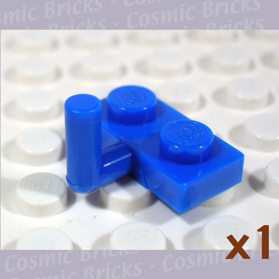 LEGO Blue Plate Modified 1x2 Arm Up 4280139 4623 (single,N)