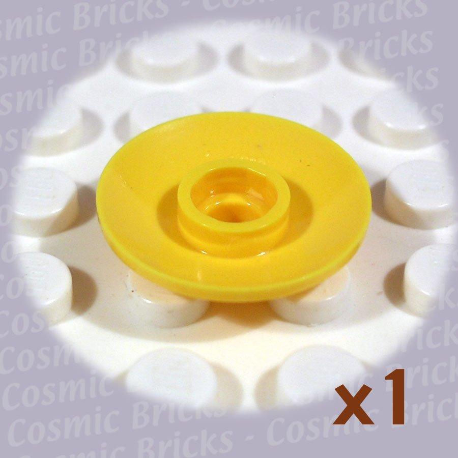 LEGO Yellow Dish 2x2 Inverted 4740 71874 30063 4169960 (single,U)