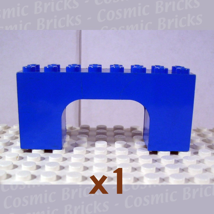 LEGO Blue Brick Arch 2x8x3 474323 4743 (single,U)