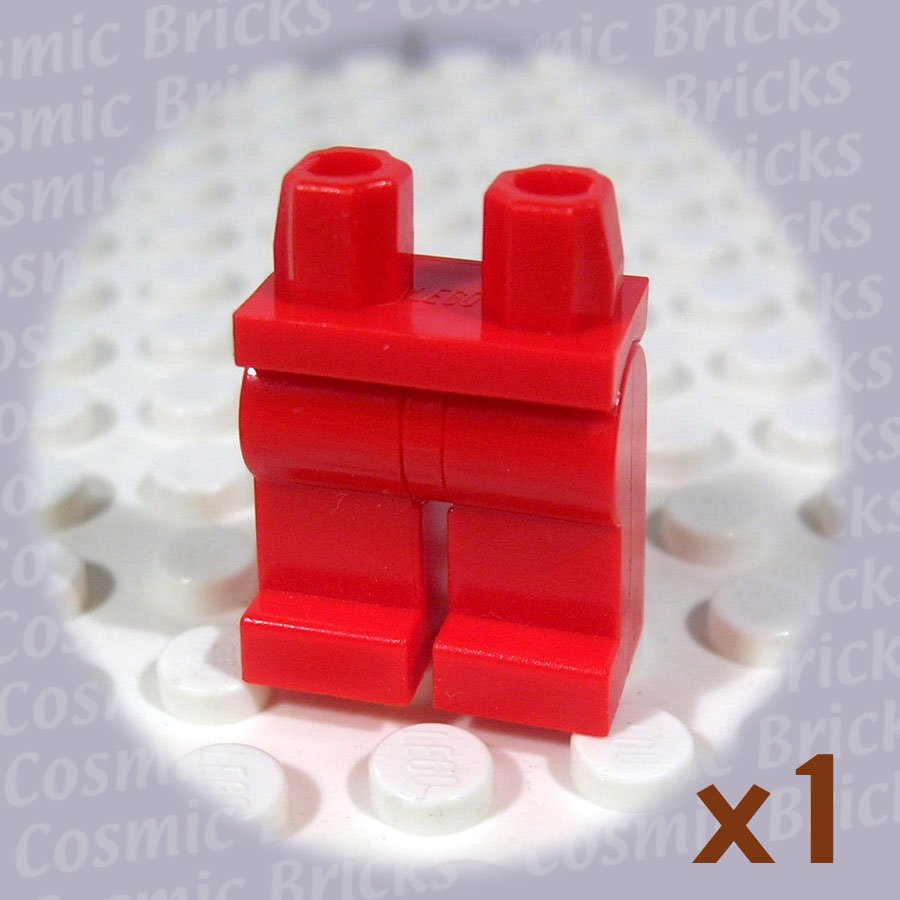 LEGO Red Hips and Red Legs (single,U)