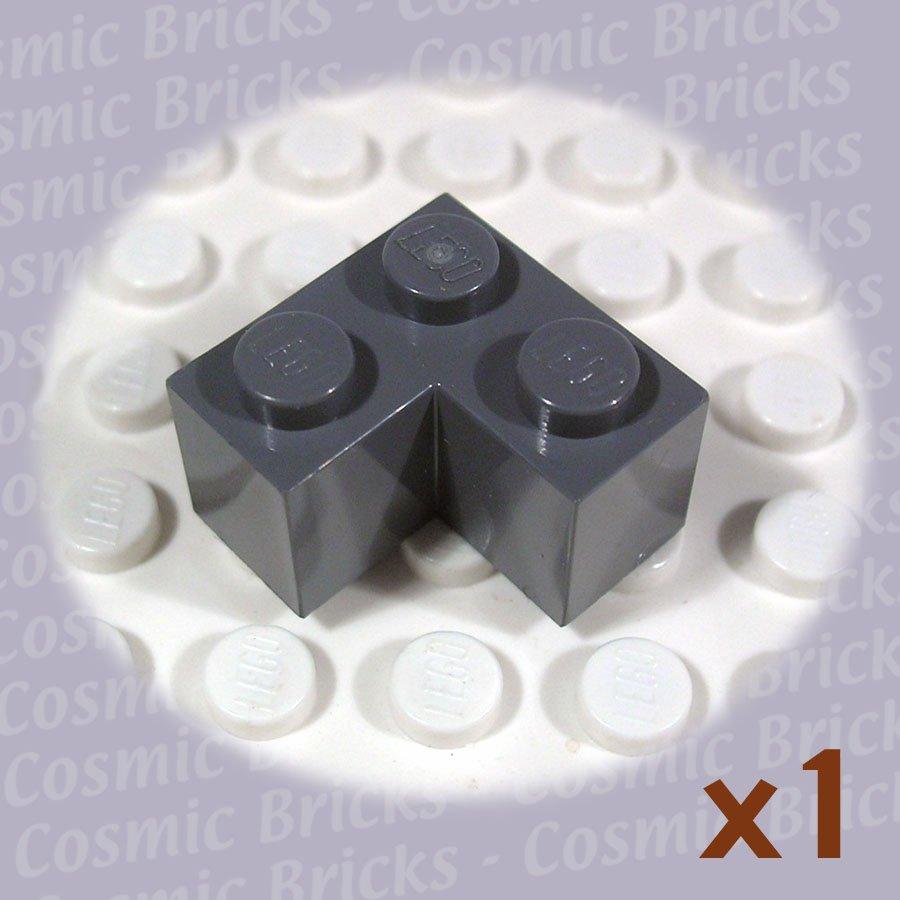 LEGO Dark Bluish Gray Brick 2x2 Corner 4211109 2357 (single,N)