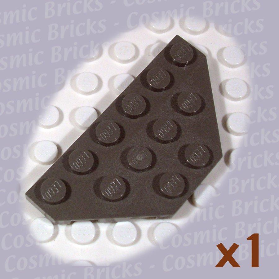 LEGO Dark Gray Wedge Plate 3x6 Cut Corners 241927 2419 (single,U)