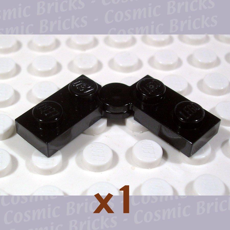 LEGO Black Hinge Plate 1x4 74011 (single,U)