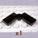LEGO Black Hinge Plate 1x4 74011 (single,N)