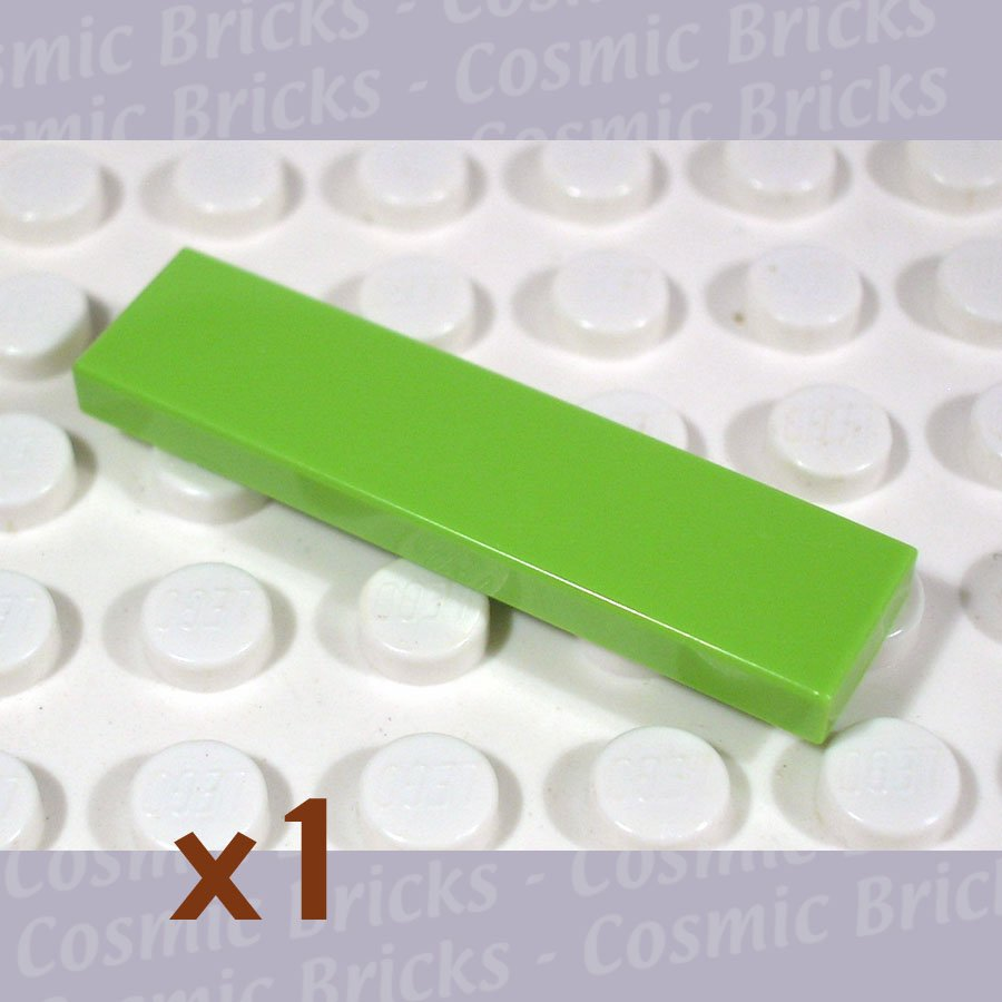 LEGO Lime Tile 1x4 4164021 2431 (single,N)