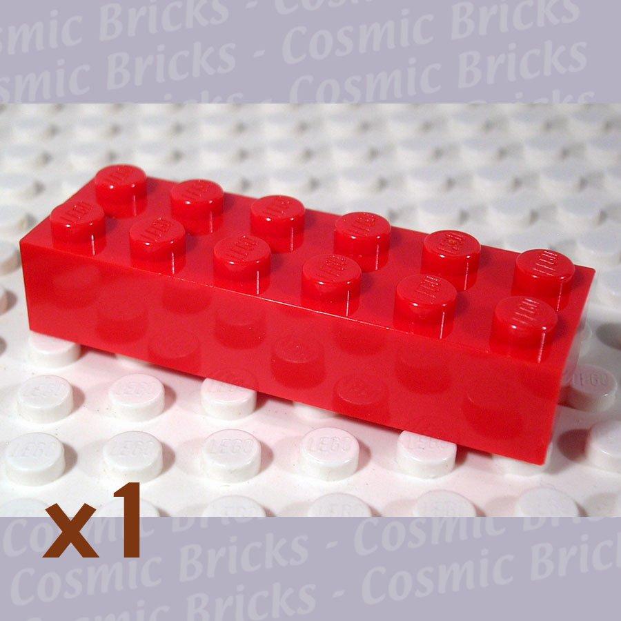 LEGO Red Brick 2x6 4181138 2456 (single,N)