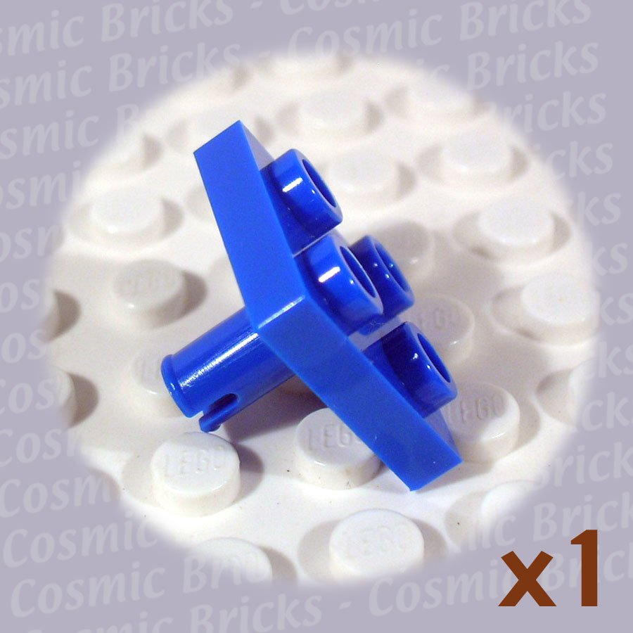 LEGO Blue Plate Modified 2x2 Pin Bottom 4170321 4237078 2476 (single,N)