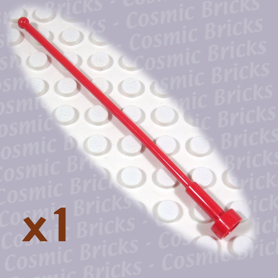 LEGO Bright Red Antenna Whip 8H 256921 2569 (single,U)