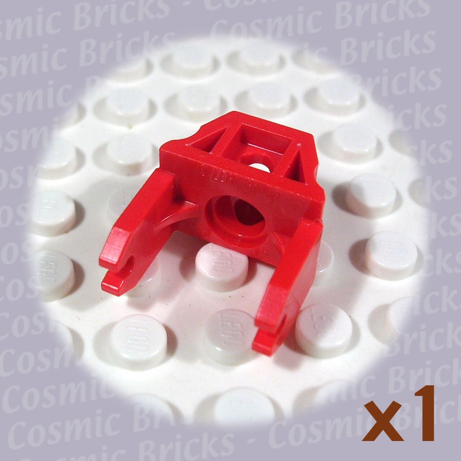 LEGO Red Magnet Holder 2x3 260721 2607 (single,U)