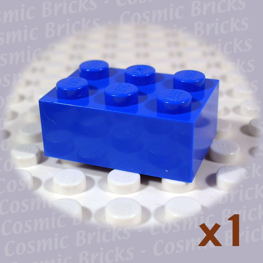 LEGO Blue Brick 2x3 300223 3002 (single,N)