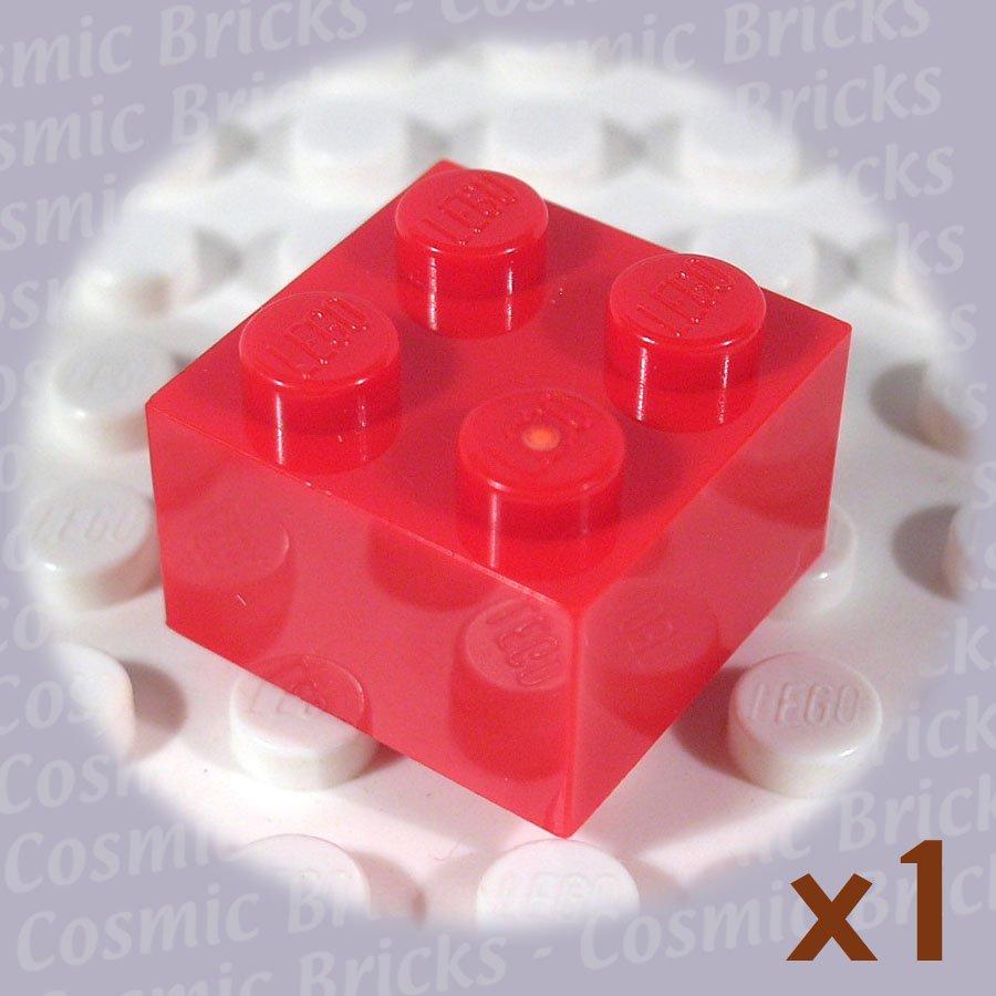 LEGO Red Brick 2x2 300321 3003 (single,N)