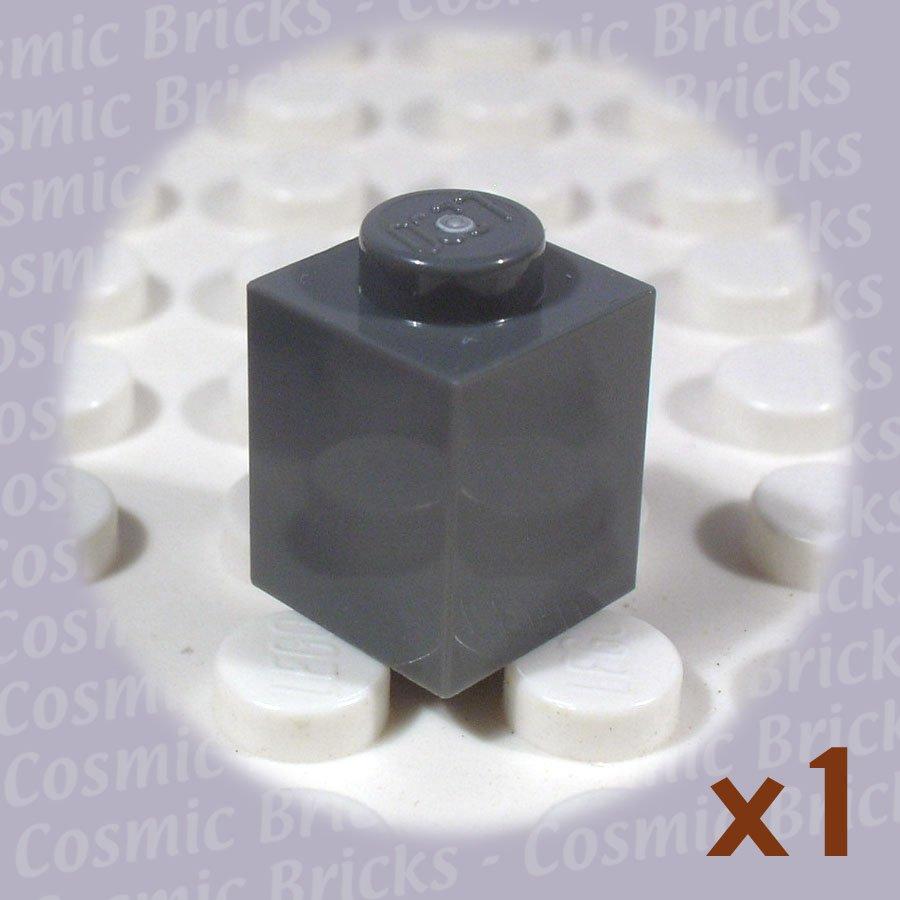 LEGO Dark Bluish Gray Brick 1x1 4211098 3005 (single,N)