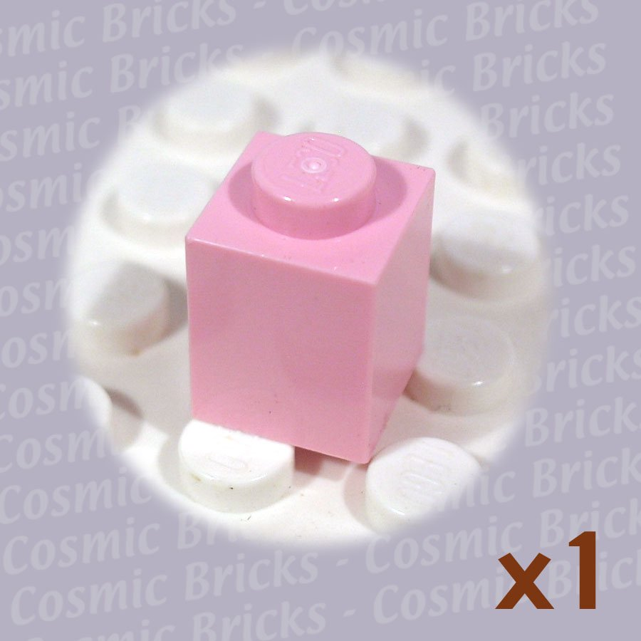 LEGO Pink Brick 1x1 4173805 3005 (single,N)