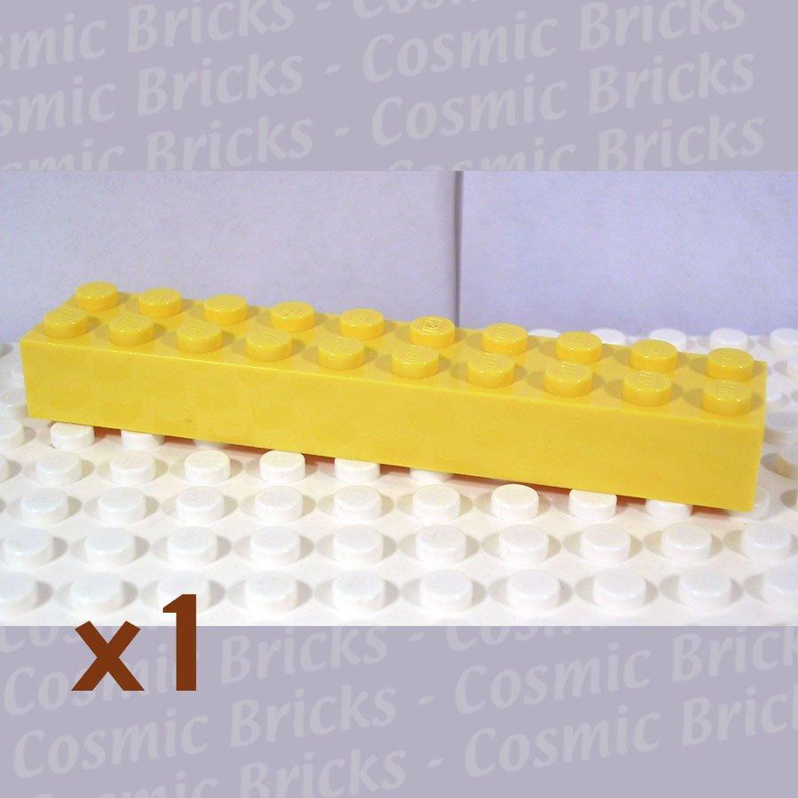 LEGO Yellow Brick 2x10 300624 3006 (single,N)