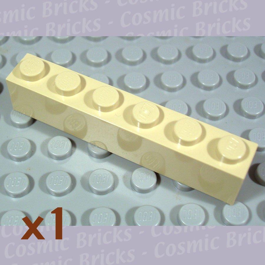 LEGO Tan Brick 1x6 4112982 3009 (single,U)