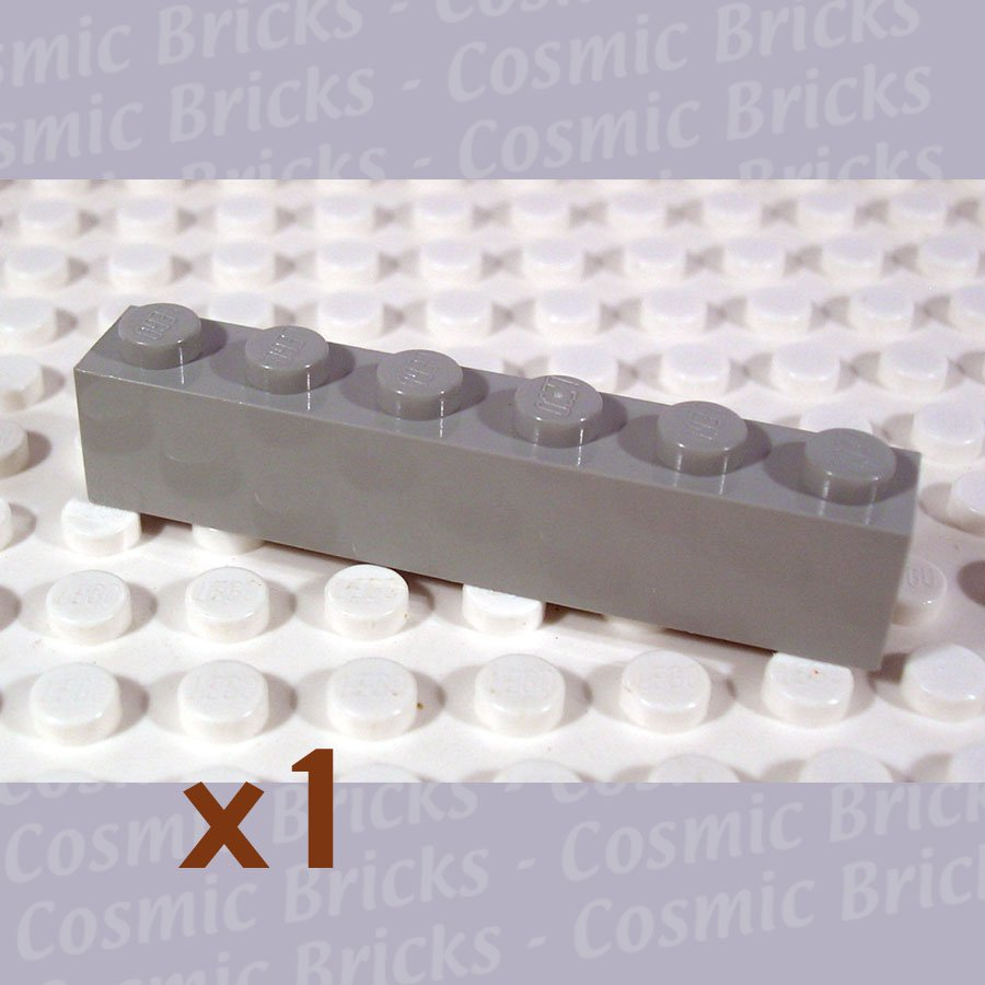 LEGO Light Gray Brick 1x6 300902 3009 (single,N)