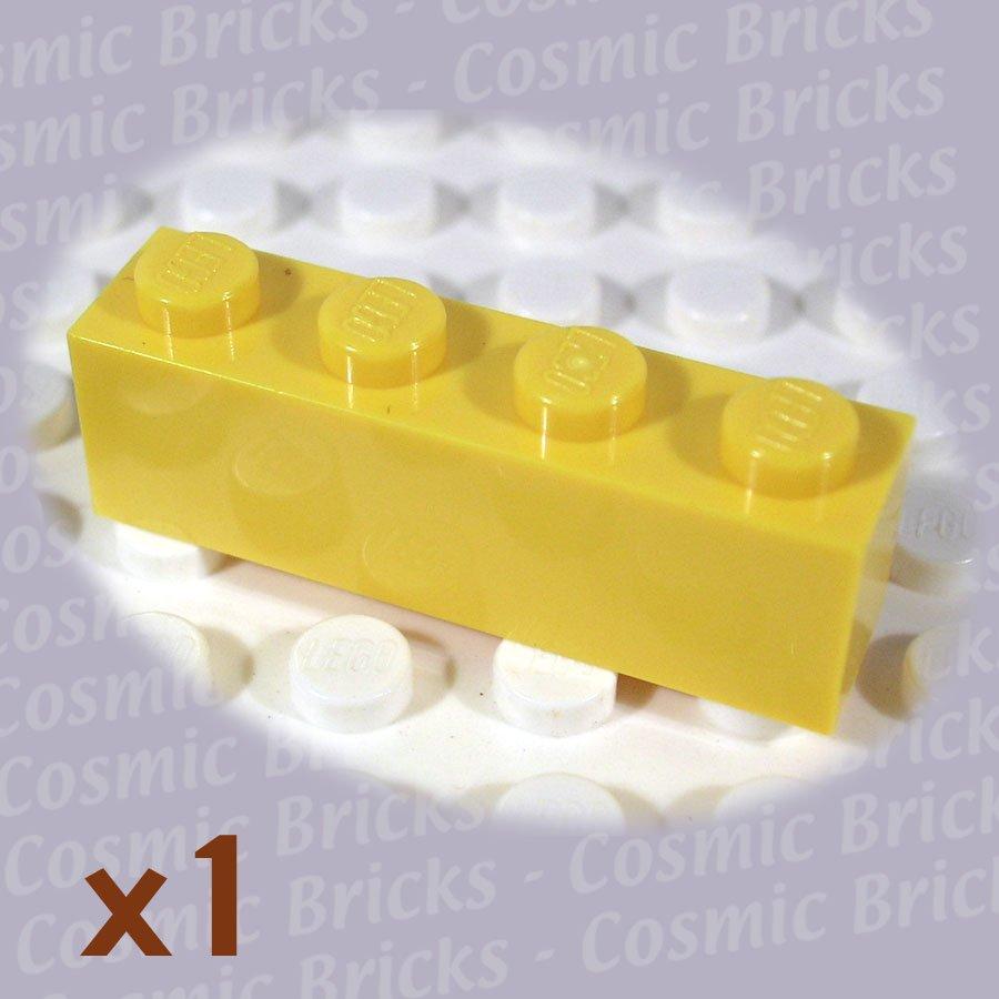 LEGO Yellow Brick 1x4 301024 3010 (single,N)