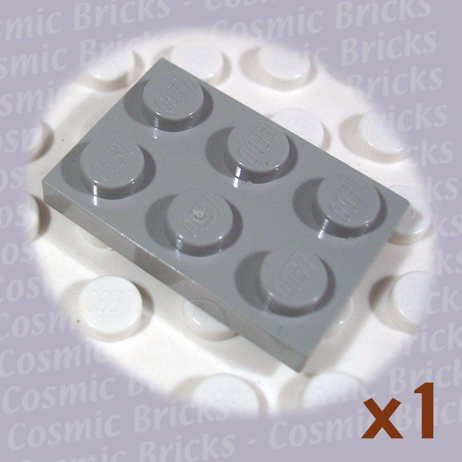 LEGO Light Gray Plate 2x3 302102 3021 (single,N)